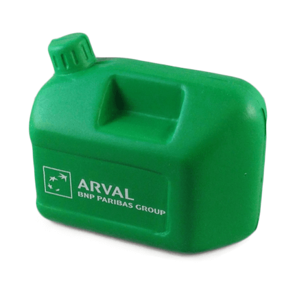 Petrol can shaped stress ball