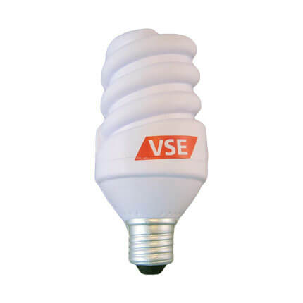 Energy saving light bulb stress shape