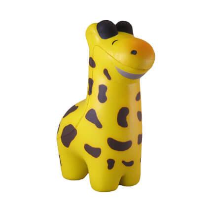 giraffe shaped stress ball
