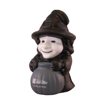 Witch Stress Ball Fron View