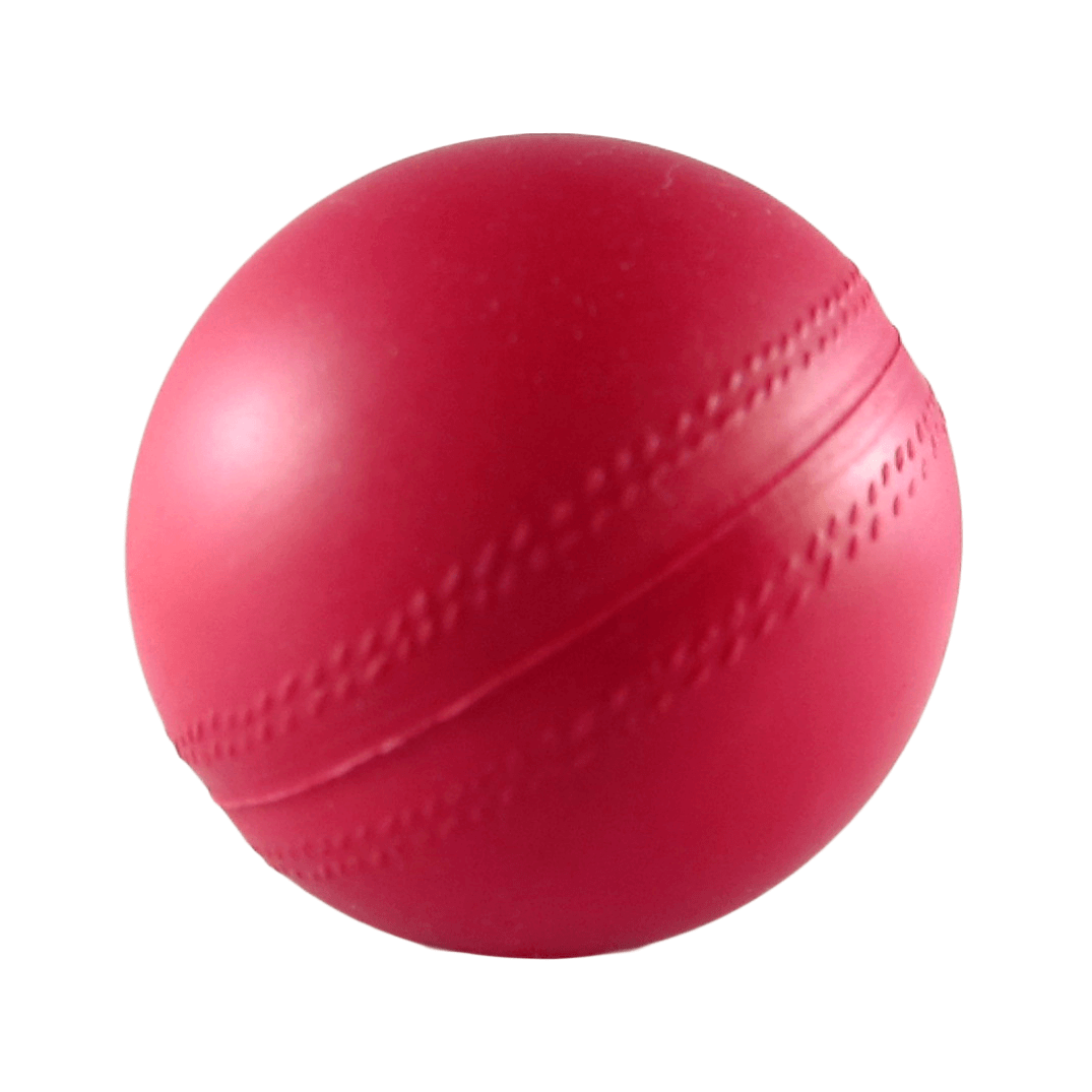 Red Cricketball Angle View
