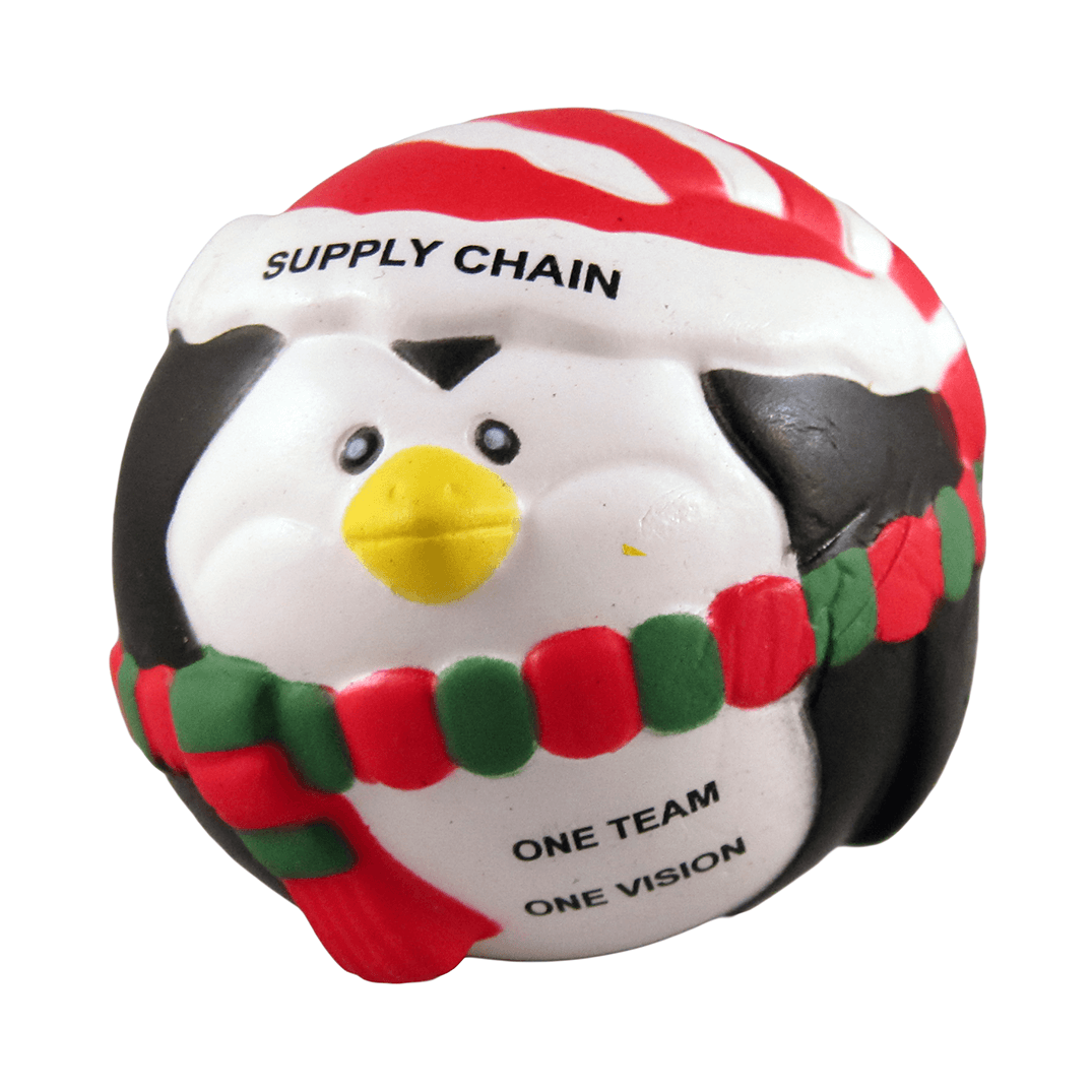 Christmas Penguin Front