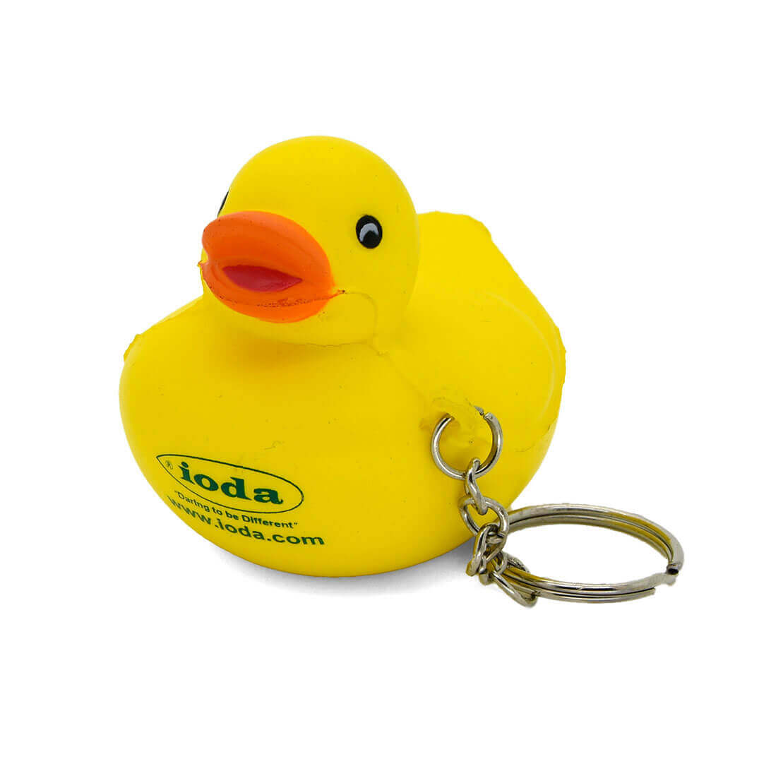 Duck Stress Keyring Front View