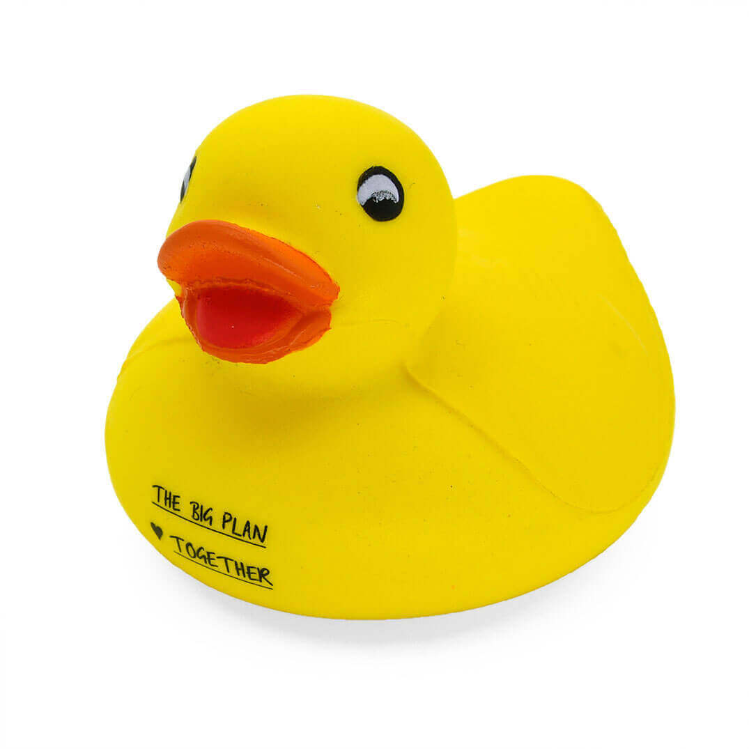 Duck Stress Ball Front View