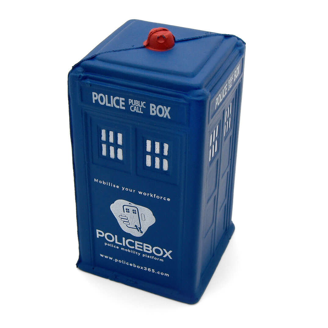 Stress Police Box Front View