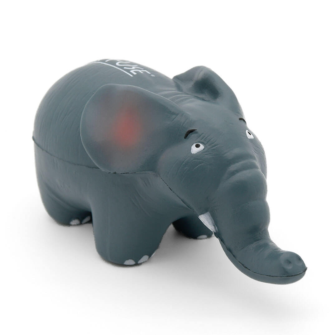 Elephant Stress Ball Front View