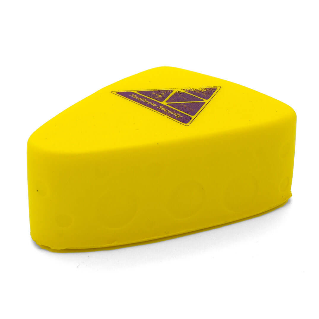 Cheese Stress Ball Side View