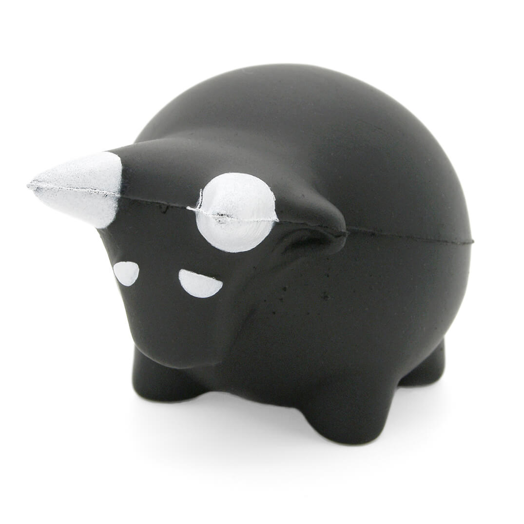 Chunky Bull Stress Ball Front View