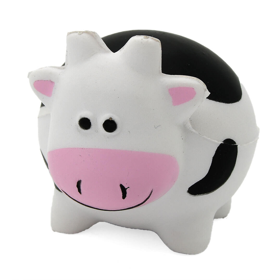 Chunky Cow Stress Ball Front View