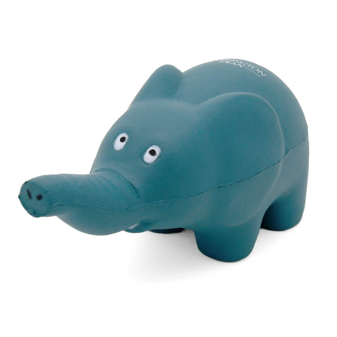 Elephant Keyring Stress Ball Front View
