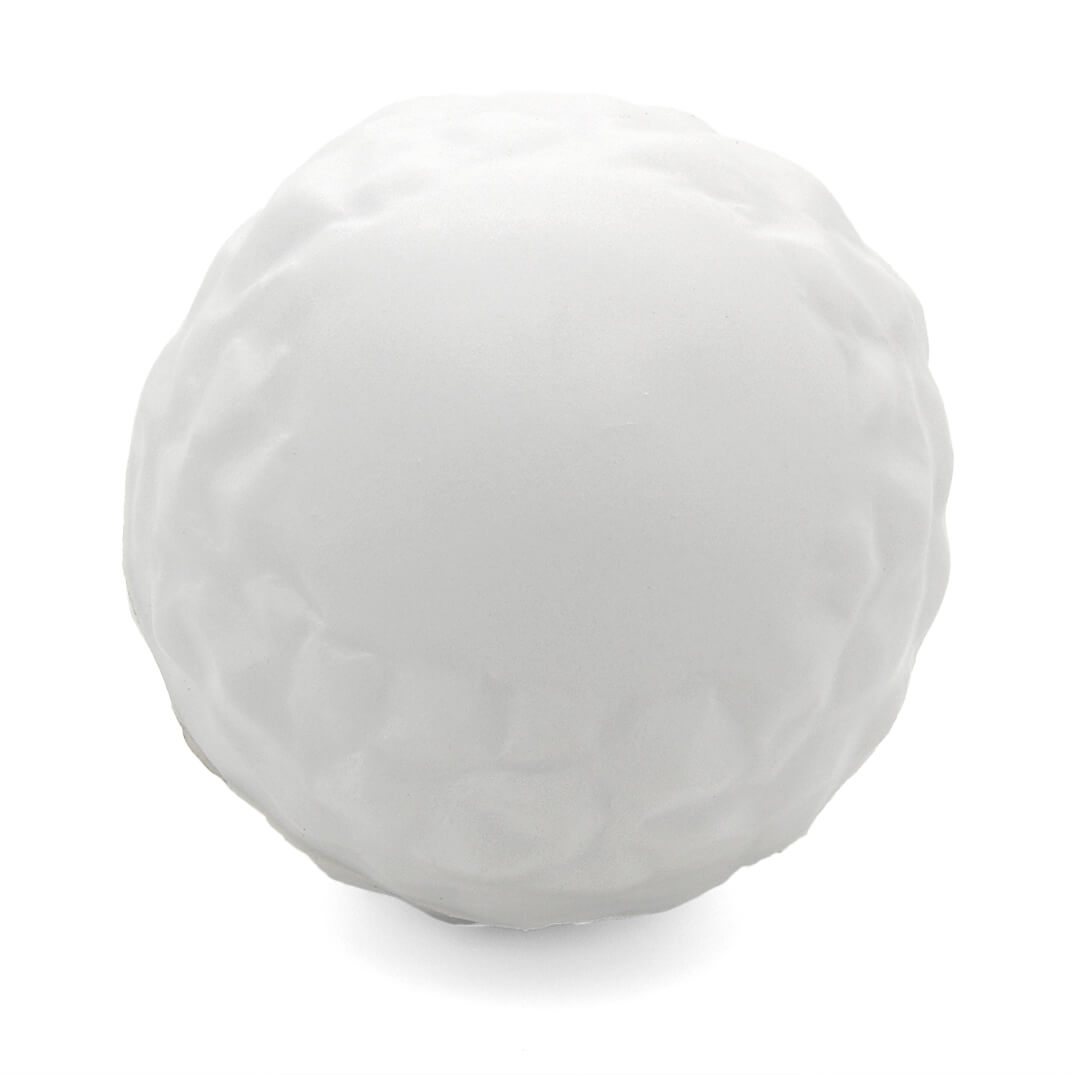 Snowball Stress Ball Front View