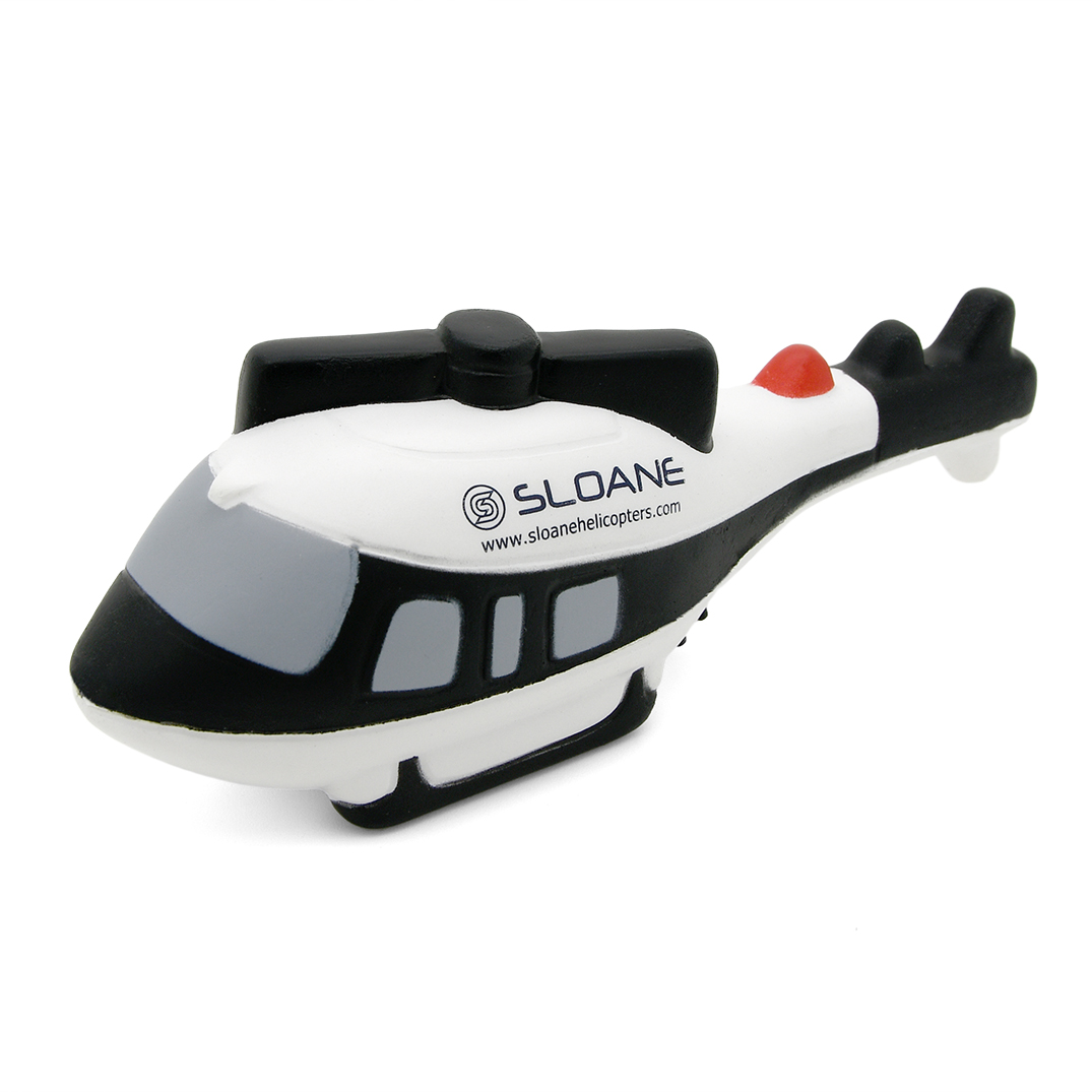Helicopter Stress Ball Front View