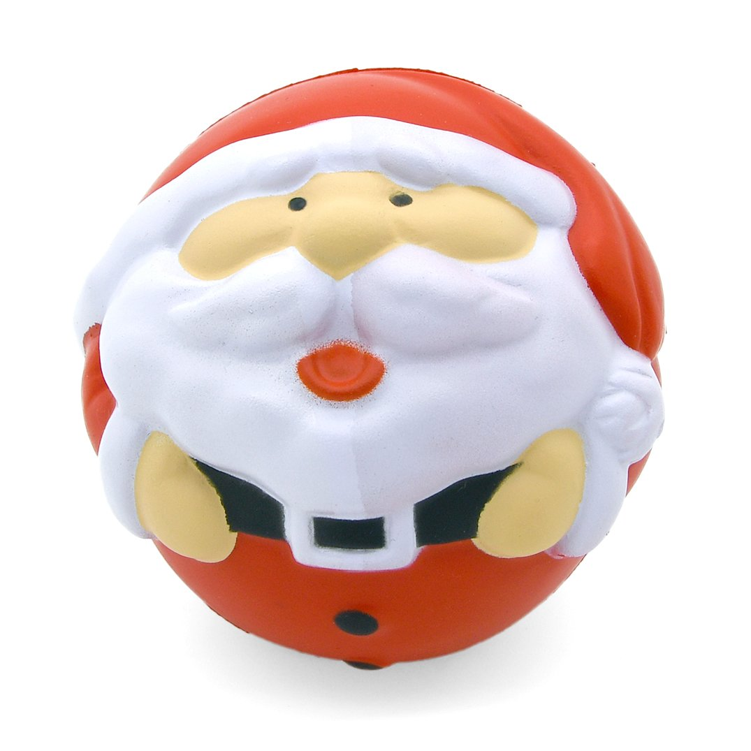 Santa Stress Ball Front View