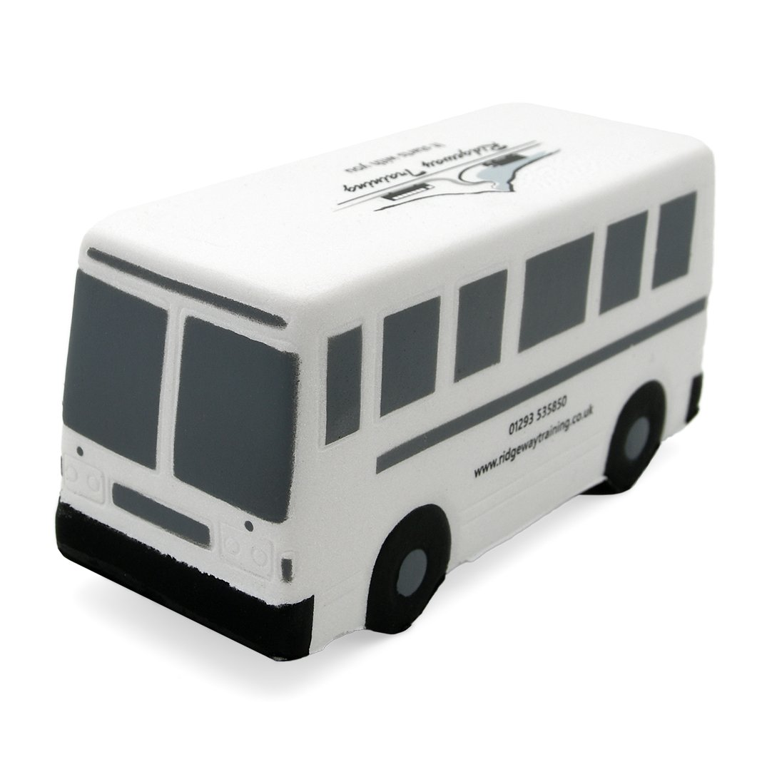 Bus Stress Ball Front View