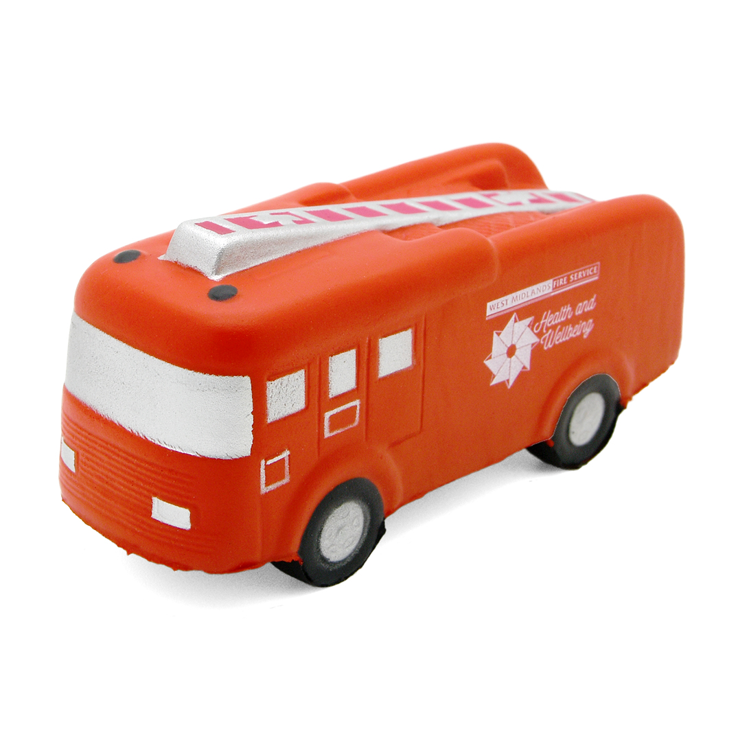 Fire Engine Stress Ball Front View
