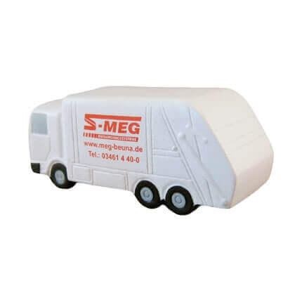 Recycling Lorry Stress Ball Rear View