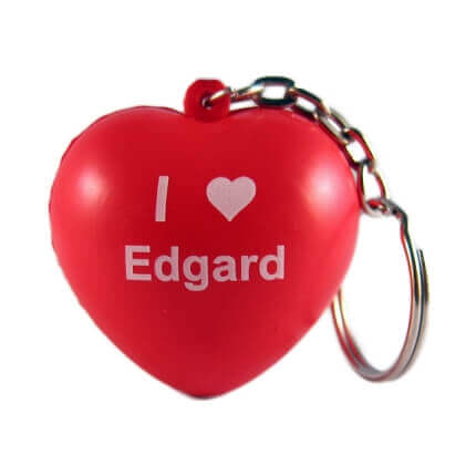 Heart Keyring Front