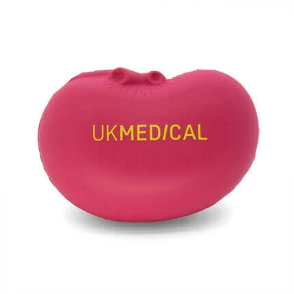UK Medical Pink Kidney stress ball
