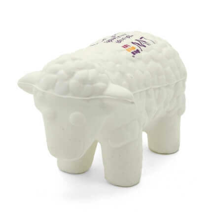 Sheep Stress Ball Front View