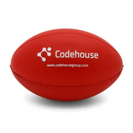 Rugby Stress Ball Front View