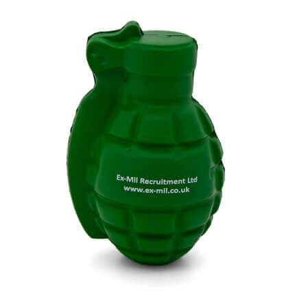 Stress Grenade Front View