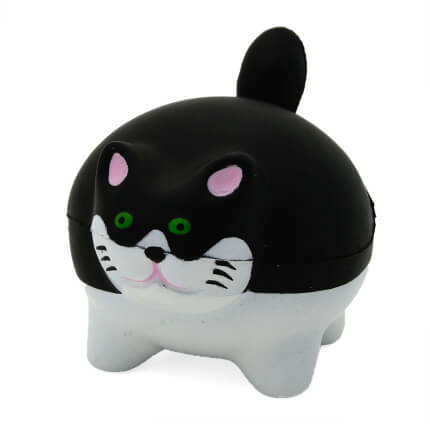 Chunky Cat Stress Ball Front View