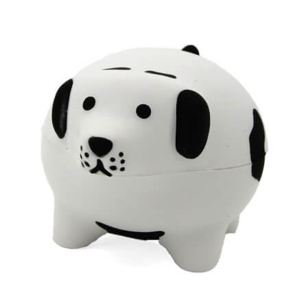 Chunky Dog Stress Ball Front View
