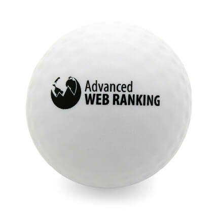 Golf Ball Front View
