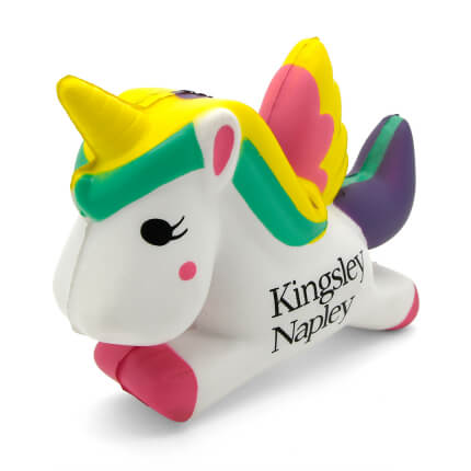 Unicorn Stress Ball Front View
