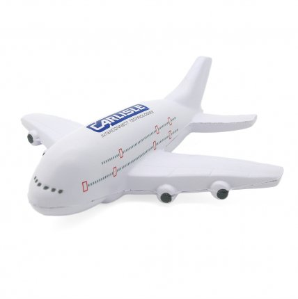 A380 Style Aeroplane Stress Ball Front View