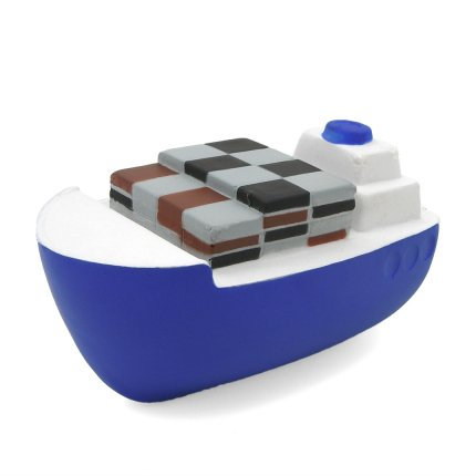 Container Ship Stress Ball Front Bow View