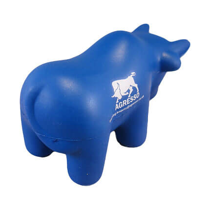 Bull stress toy back view