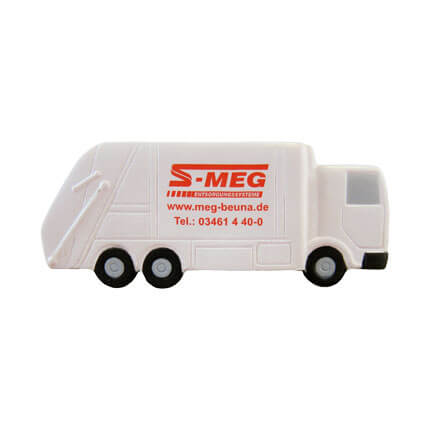 Recycling Lorry Stress Ball Side View