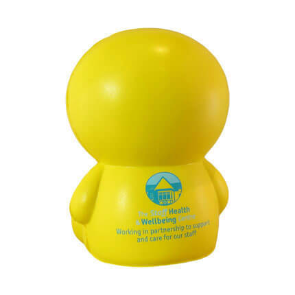 Winking Man Stress Ball With Logo