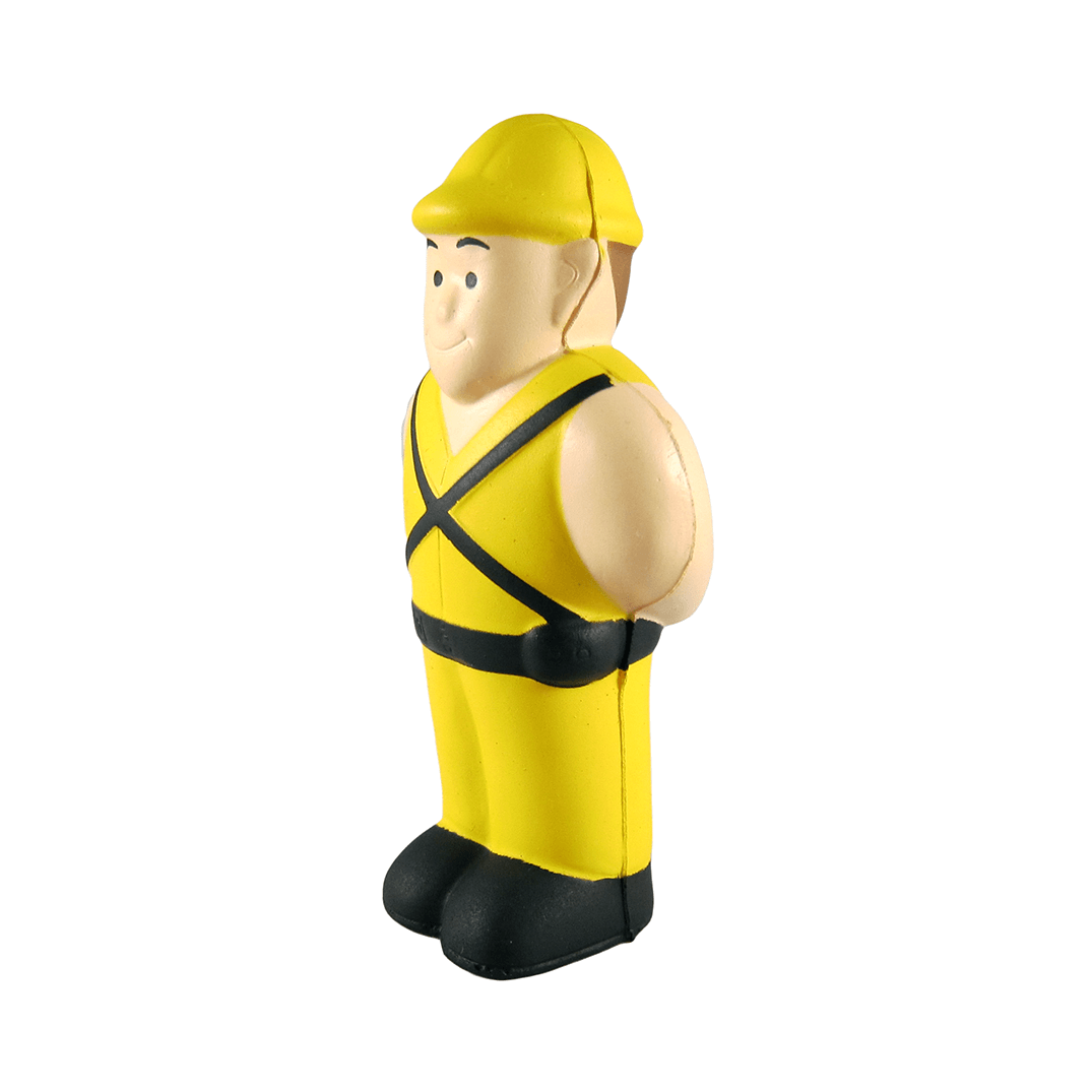 Construction Worker Side View