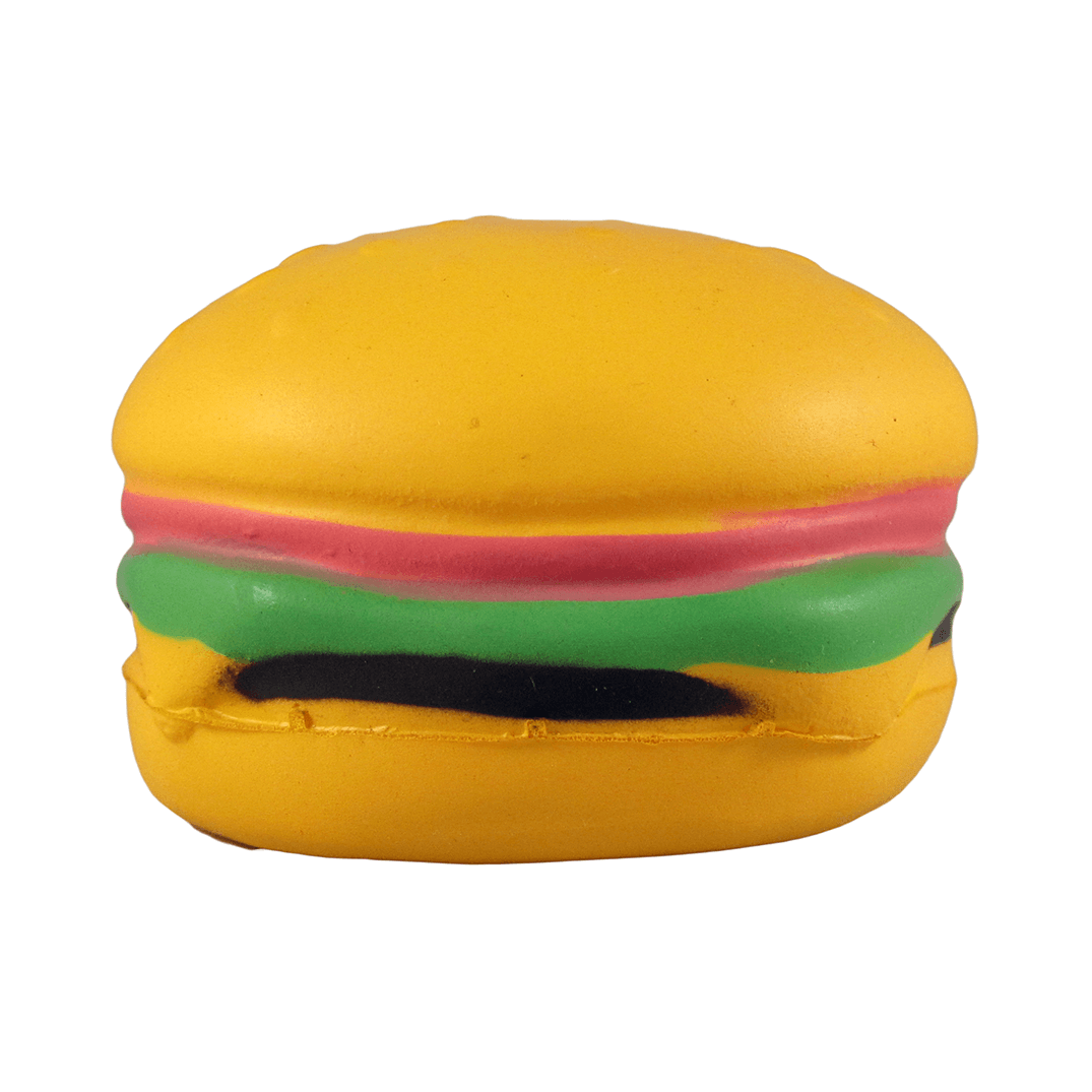 Burger Front View