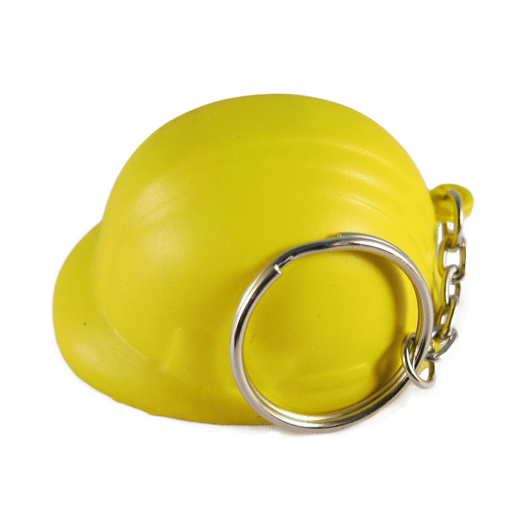 Hard Hats Keyrings Yellow