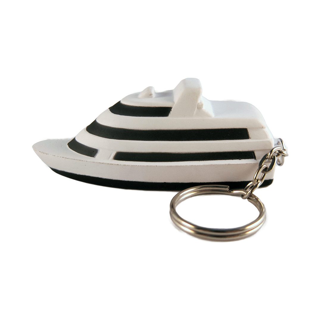 Yacht Keyring Side