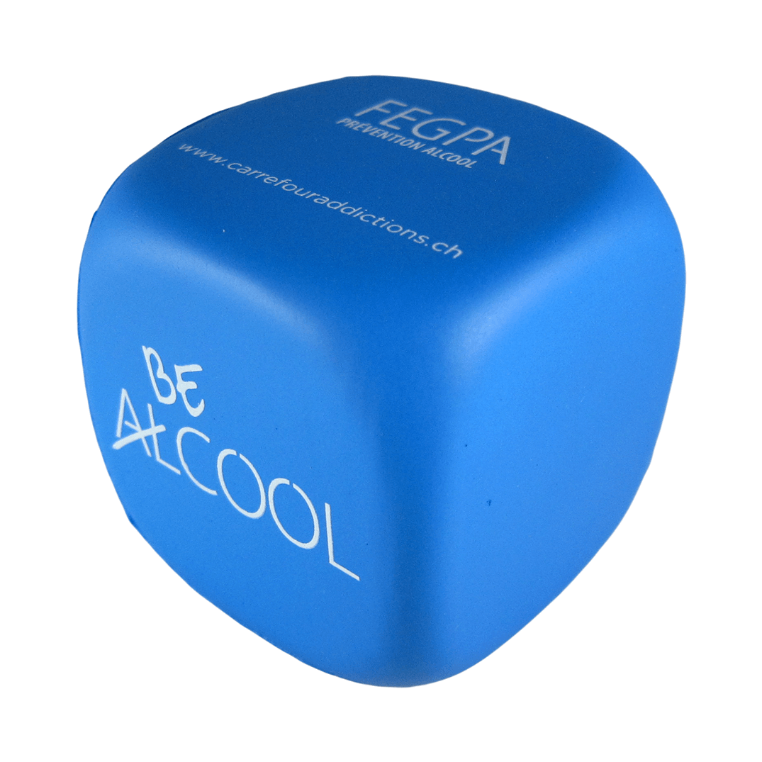 Blue Decision Dice Stress Ball