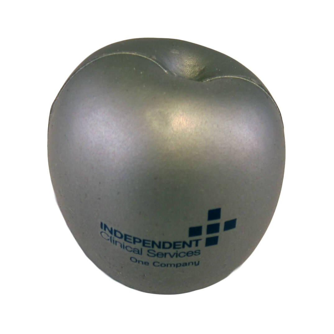 Silver Apple Front View