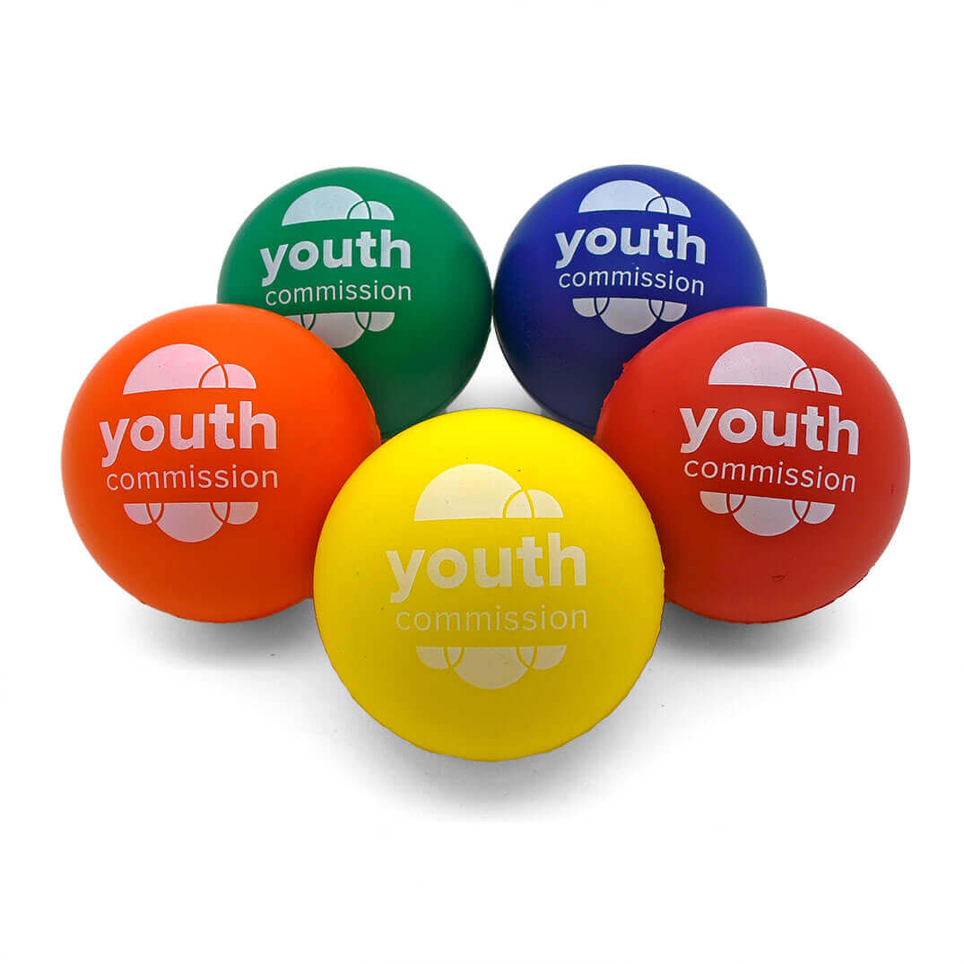 Youth Commission 70mm Stress Ball Group