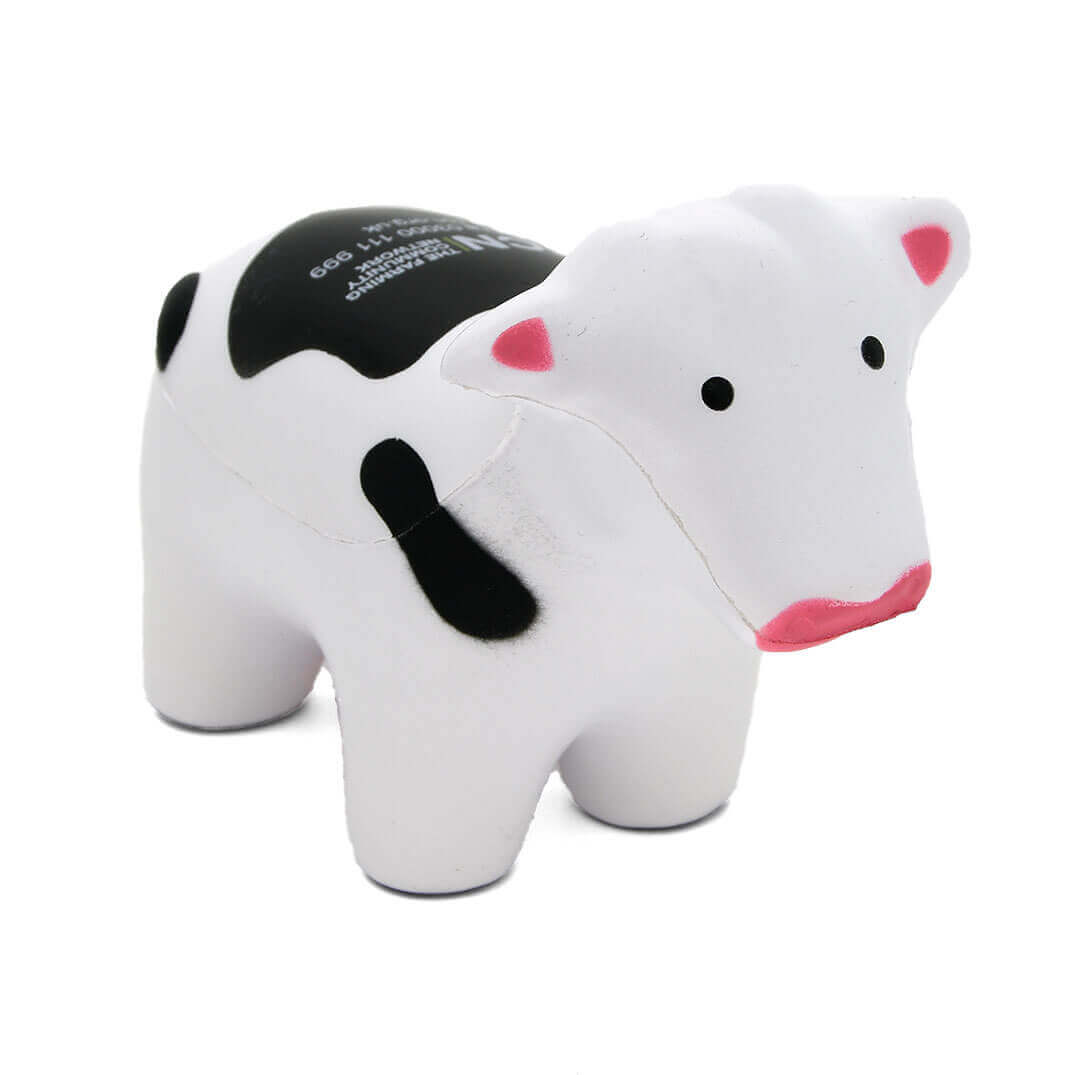Stress Cow Front View Alternate