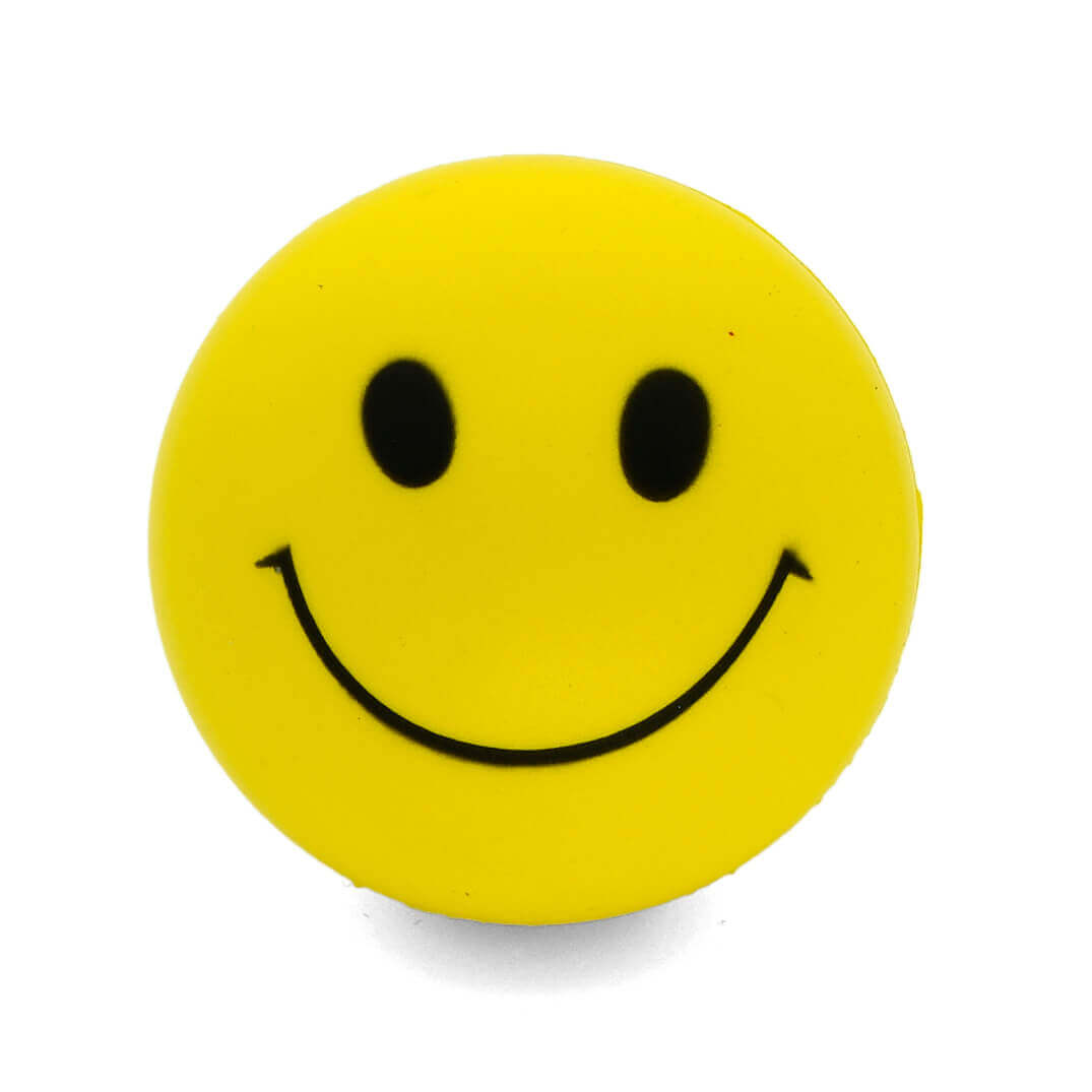Smiley Faced Stress Ball Front