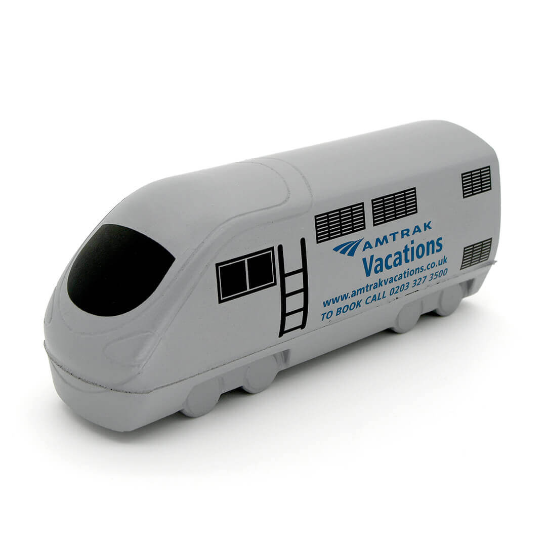 Amtrak Grey Train Stress Ball Alternate View
