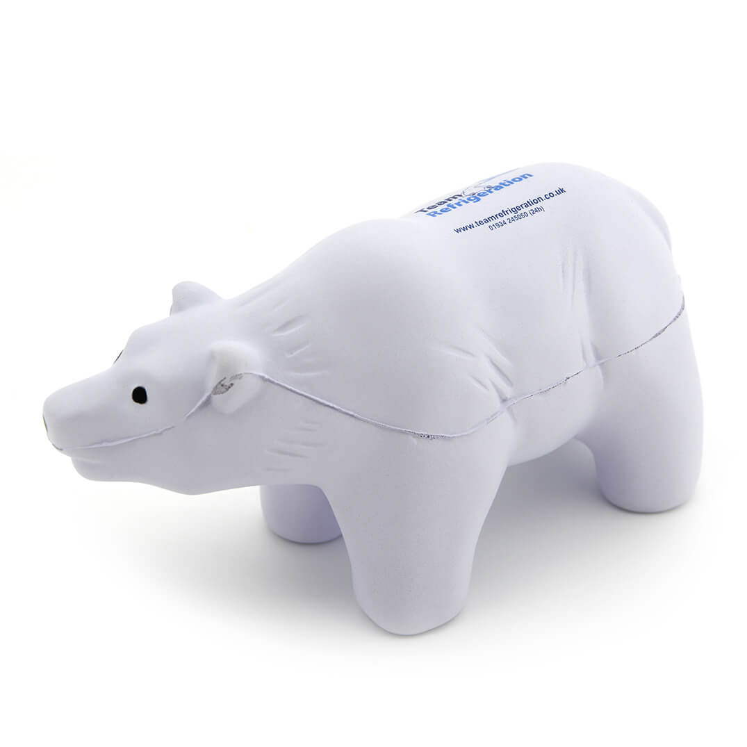 Stress Polar Bear Side View