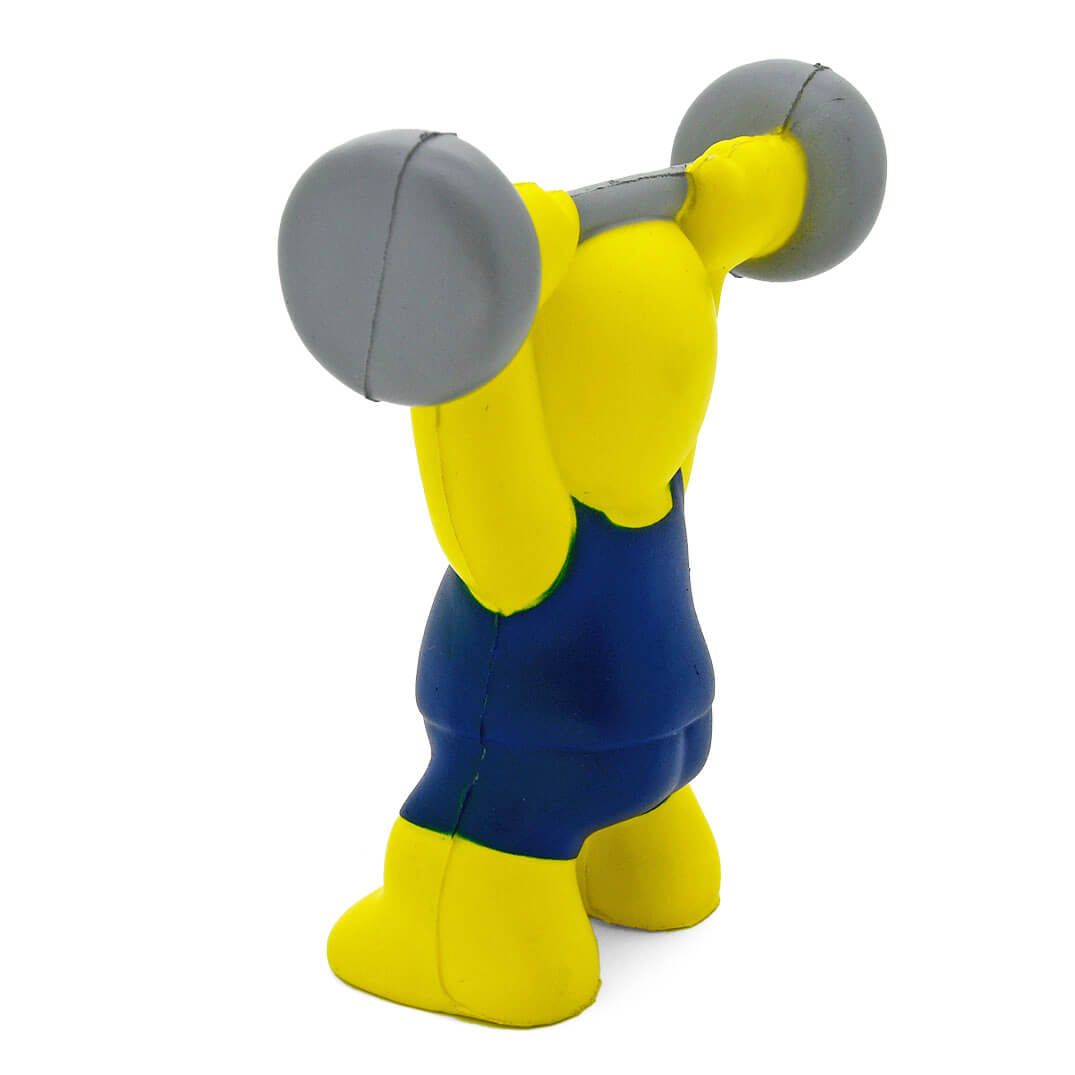Stress Weight Lifter Side View