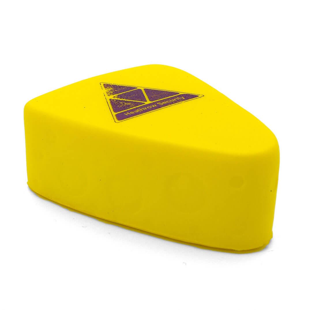 Cheese Stress Ball Alternate Side View