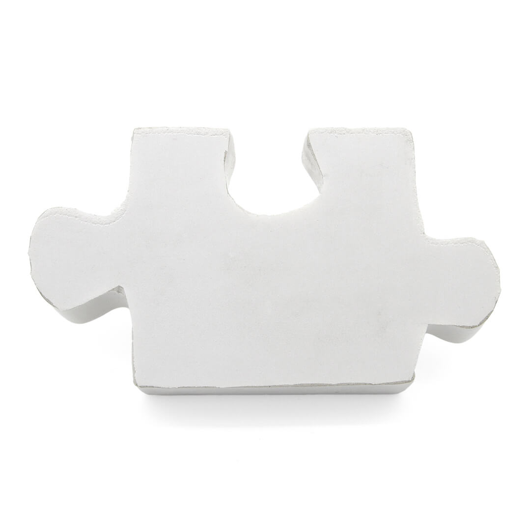 White Stress Jigsaw Piece
