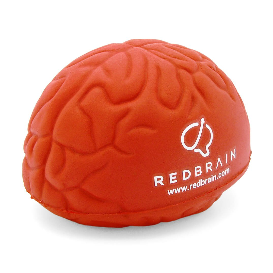 Large Red Brain Stress Ball