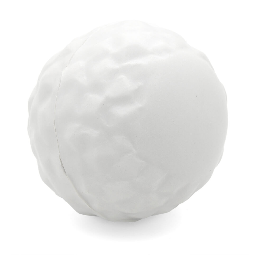 Snowball Stress Ball Side View